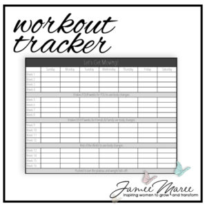 Let's get moving together! This is a great place to keep track of all your progress as you go on your Fitness Journey! We've got this, let's do it!
