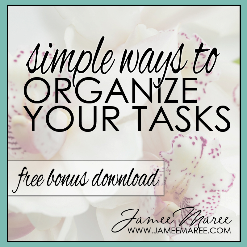 simple ways to organize brain dump lists